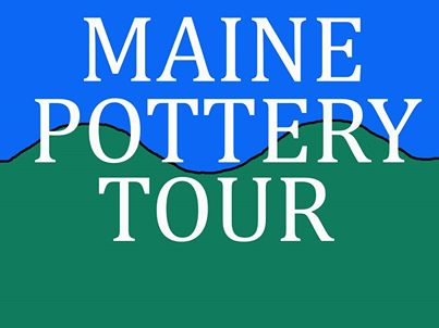 Maine Pottery Tour Logo